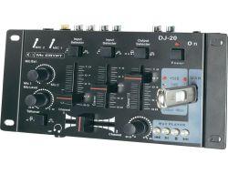 DJ Mixer Mc Crypt DJ-20 USB